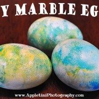 DIY Marble Eggs | shaving cream & food coloring
