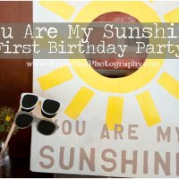 You Are My Sunshine | First Birthday Party
