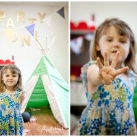 The Little House of Make Believe Birthday Party Portraits | Langhorne PA