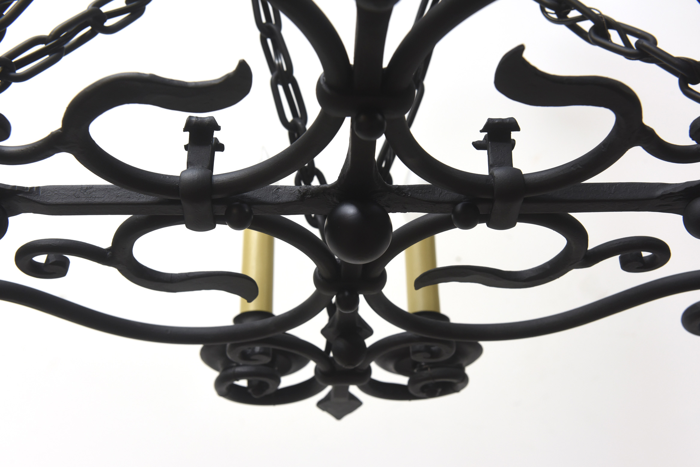 Wrought Iron Rectangular Chandelier Wrought Iron Oblong Candle Chandelier Appleton Antique