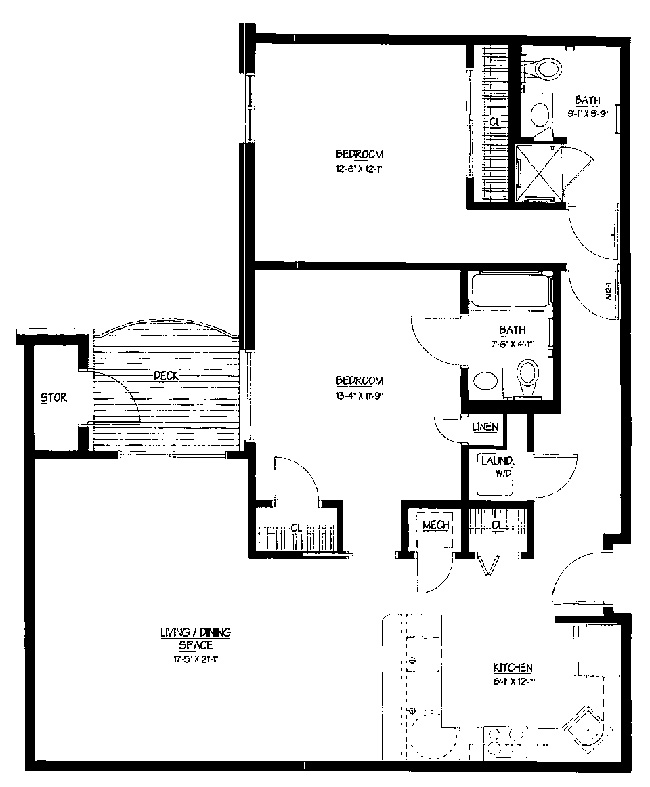 Rosewood signature apartment applewood for Rosewood house plan