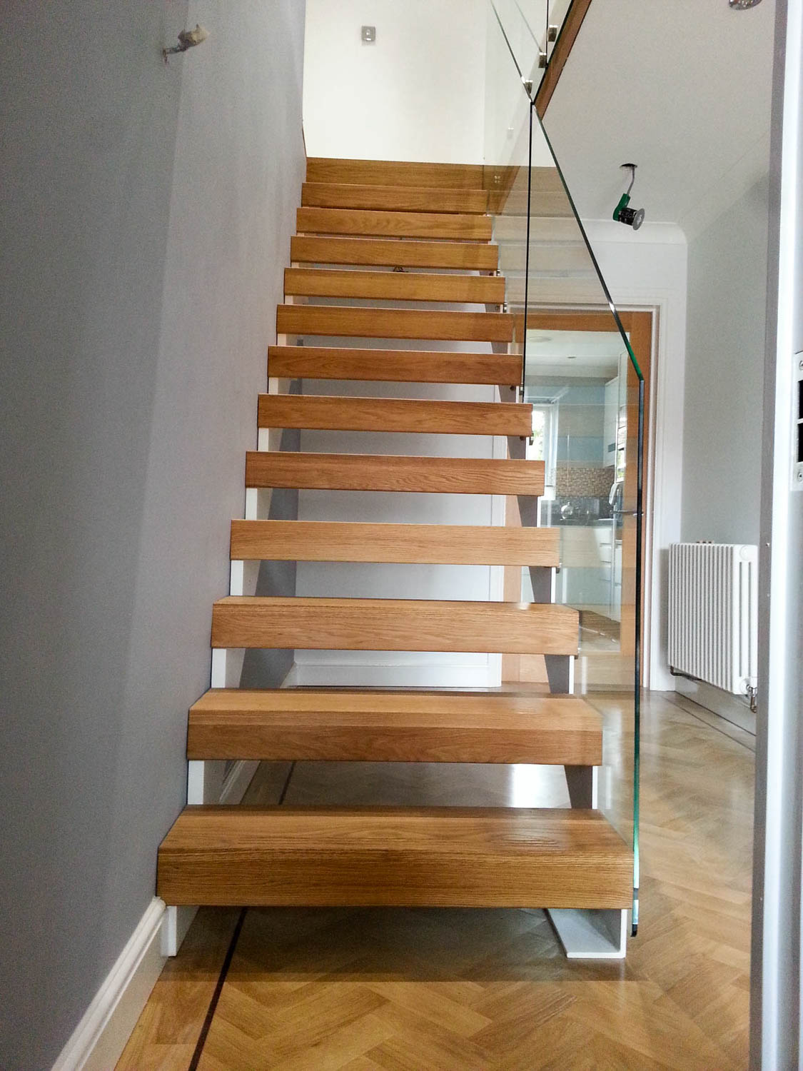 Open Staircase Design Staircases Applewood Joinery Ltd
