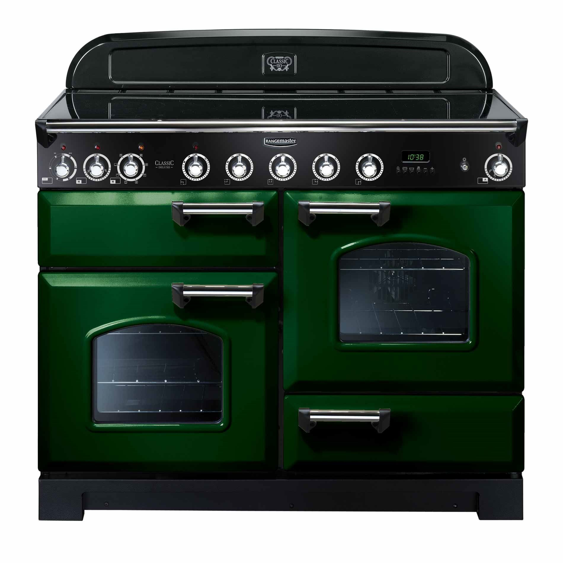 Classic Cuisine Induction Cooker Instructions Rangemaster Classic Deluxe 110 Induction Racing Green