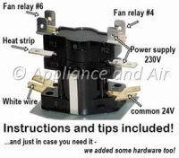 Electric Furnace Sequencer Replacement Instructions for ...