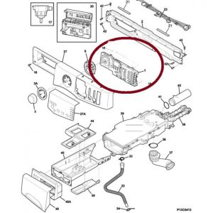 809055506 Frigidaire Front Load Washer Control Board