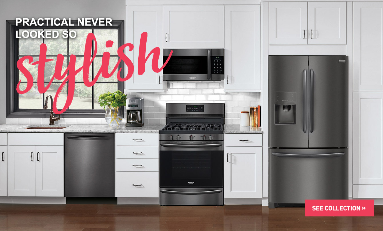 Appliances Packages Sale Frigidaire Gallery Black Stainless Steel Appliances Connection