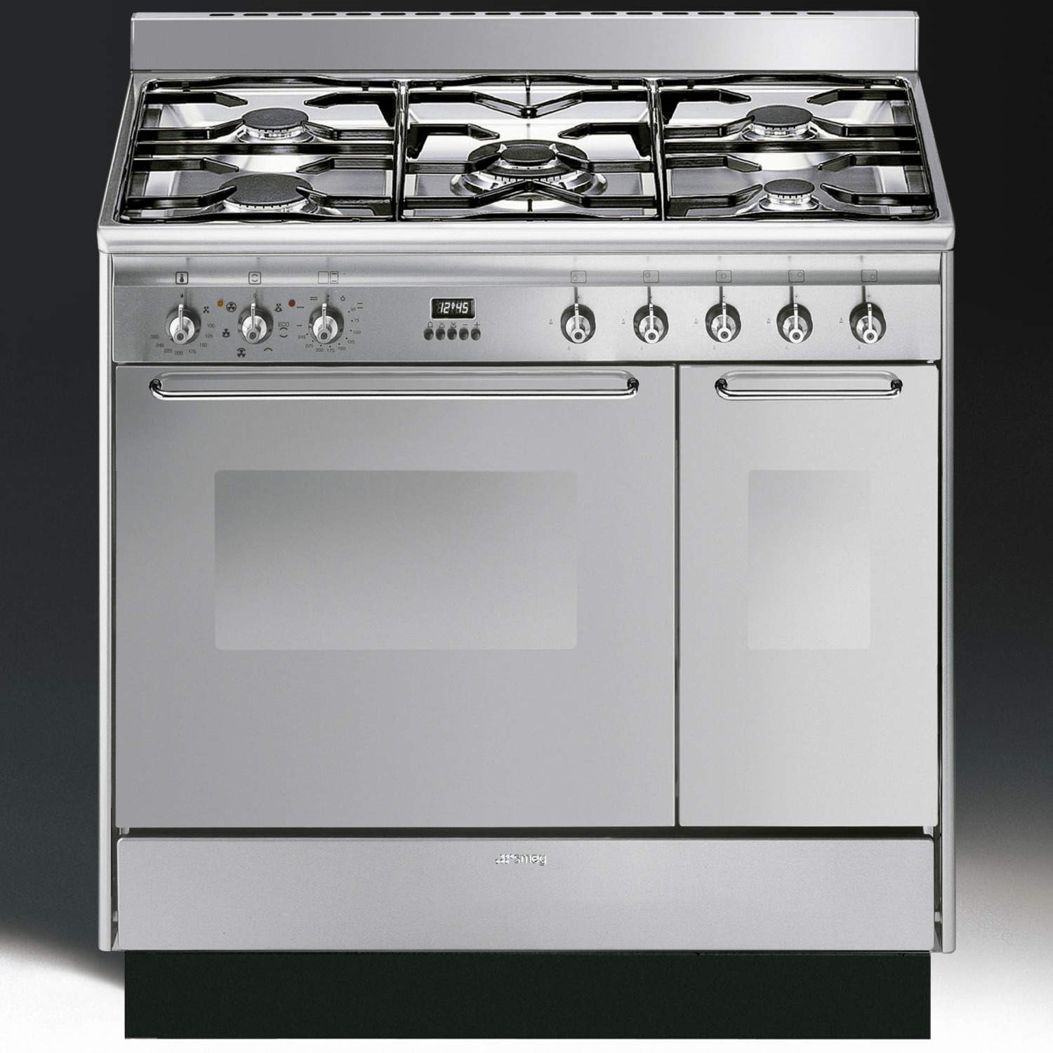 Cucina Kitchen Appliances Grade A1 As New But Box Opened Smeg Cc92mx9 Cucina Double Cavity 90cm Dual Fuel Range Cooker Stainless Steel