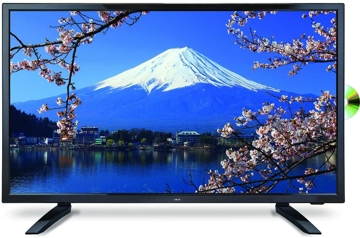 60cm Tv Akai Ak2415fhdc 24 Inch 60cm Full Hd Led Tv Dvd Combo