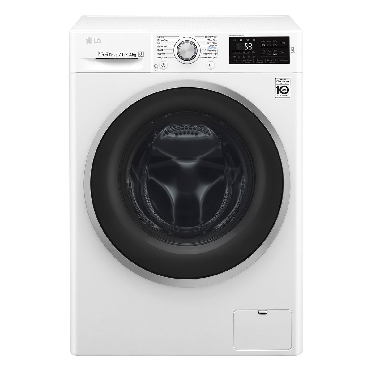 New Washer And Dryer Details About New Lg Wdc1475ncw 7 5kg 4kg Washer Dryer Combo