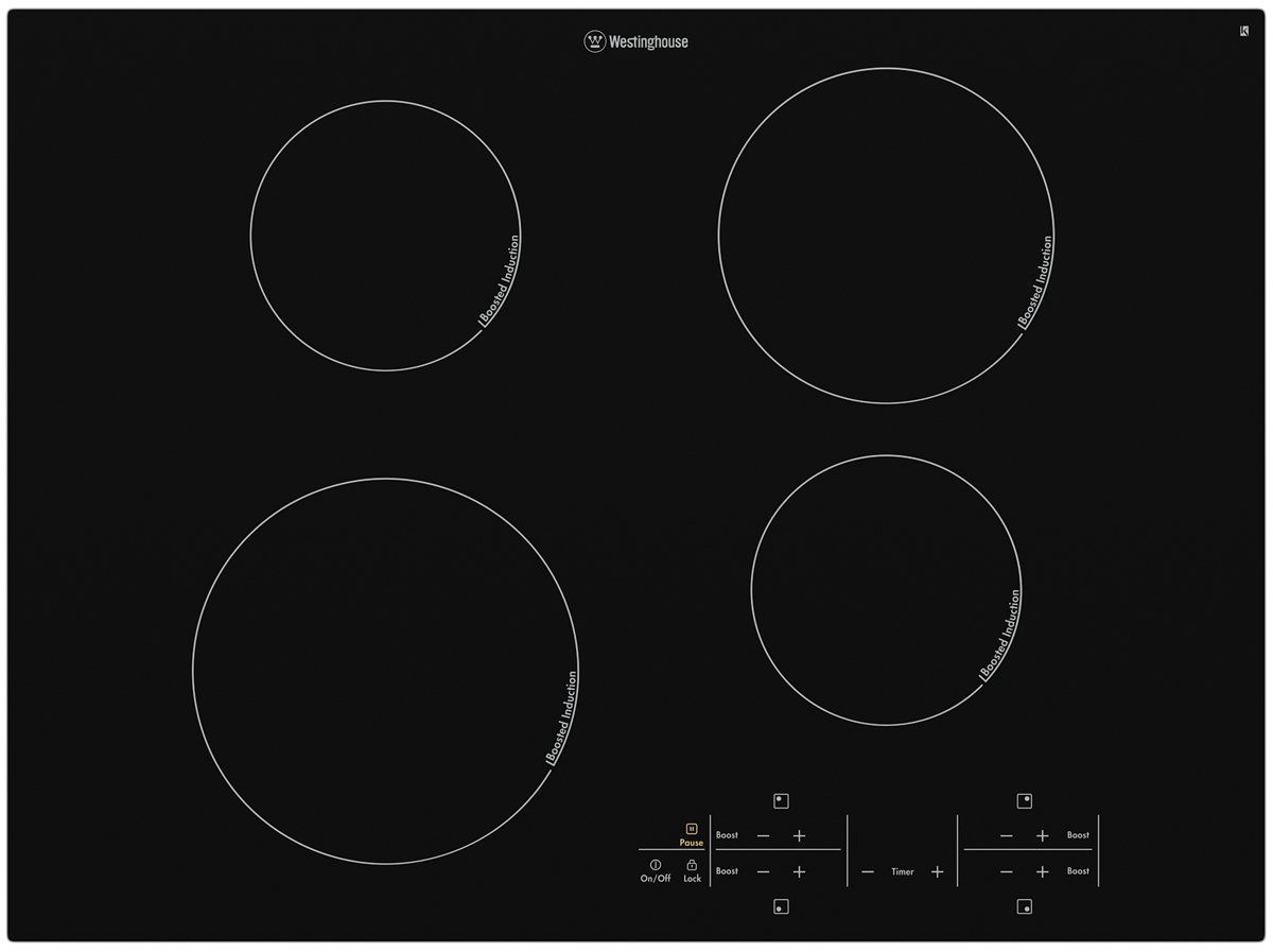 70cm Induction Cooktop Details About New Westinghouse Whi744ba 70cm Induction Cooktop