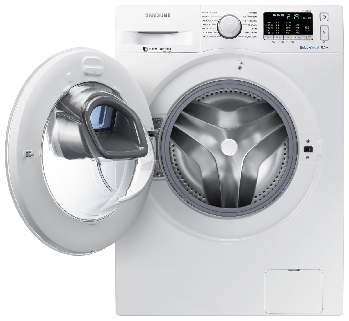 Samsung Front Load Washer Samsung Ww85k5410ww Addwash 8 5kg Front Load Washing Machine