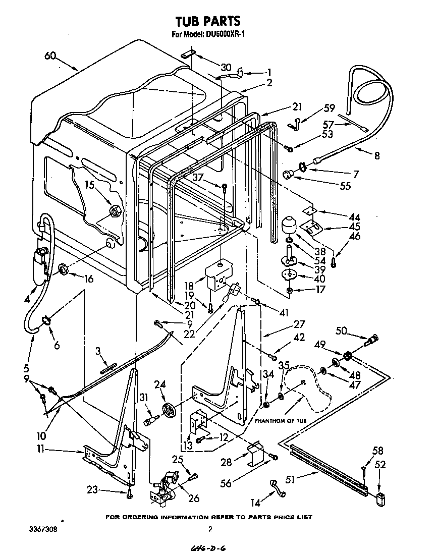 Jacuzzi Pool Pump Parts Diagram Whirlpool Du6000xr1 Timer Stove Clocks And Appliance Timers