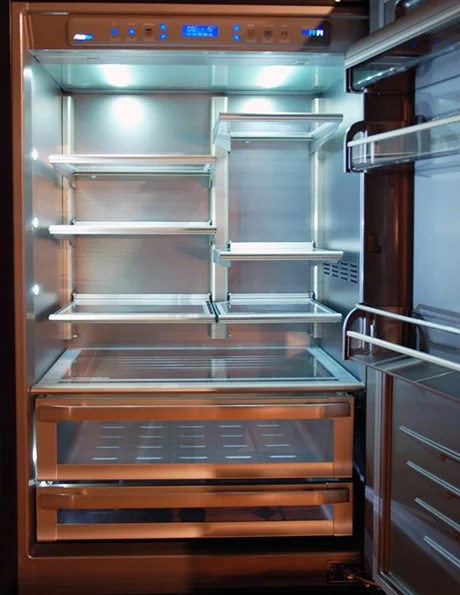 Glass Door Fridges Custom Refrigerators By Officine Gullo Home Professional