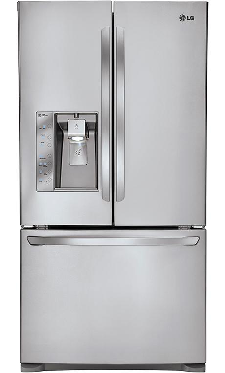 Lg french door refrigerator with blast chiller