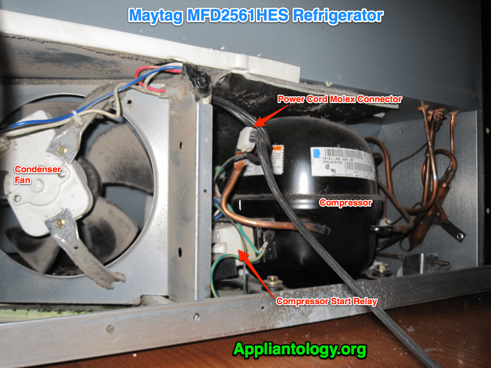 maytag refrigerator compressor wiring diagram