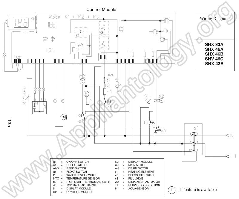 dishwasher schematics