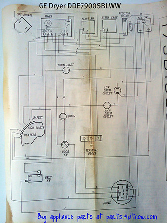 Ge Dryer Wiring Diagram Wiring Diagram