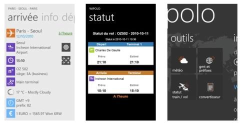 Wipolo, l'application Windows Phone 7 pour réussir son voyage