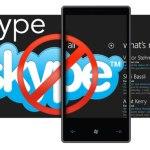 Skype pour Windows Phone 7