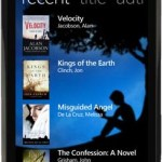 L'application Kindle pour Windows Phone 7 disponible sur la Marketplace