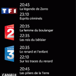 Application gratuite: Programme TV sur Windows Phone