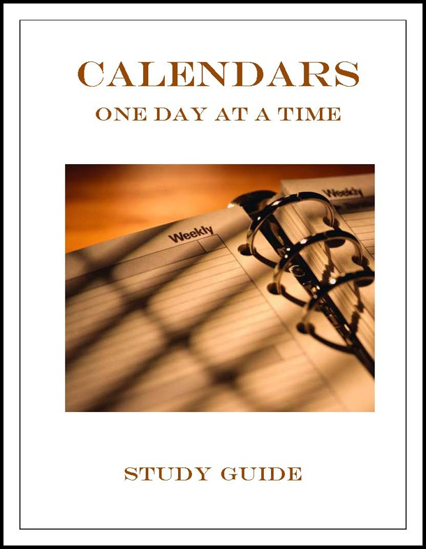 Calendar One Day at a Time Study Guide \u2013 Applied Scholastics Online