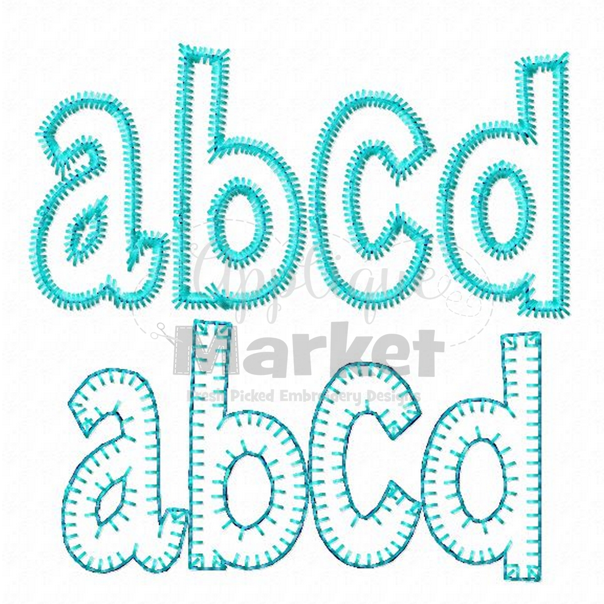 Applique Henry Applique Alphabet Applique Design
