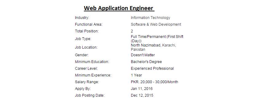 Product Application Engineer Job Description   Standard Resume ...