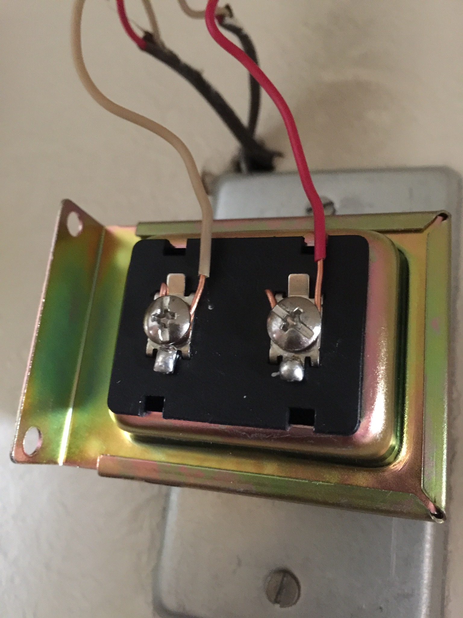 Friedland Deurbel Aansluitschema Hidden Doorbell Transformer And Ring Doorbell Diode Install