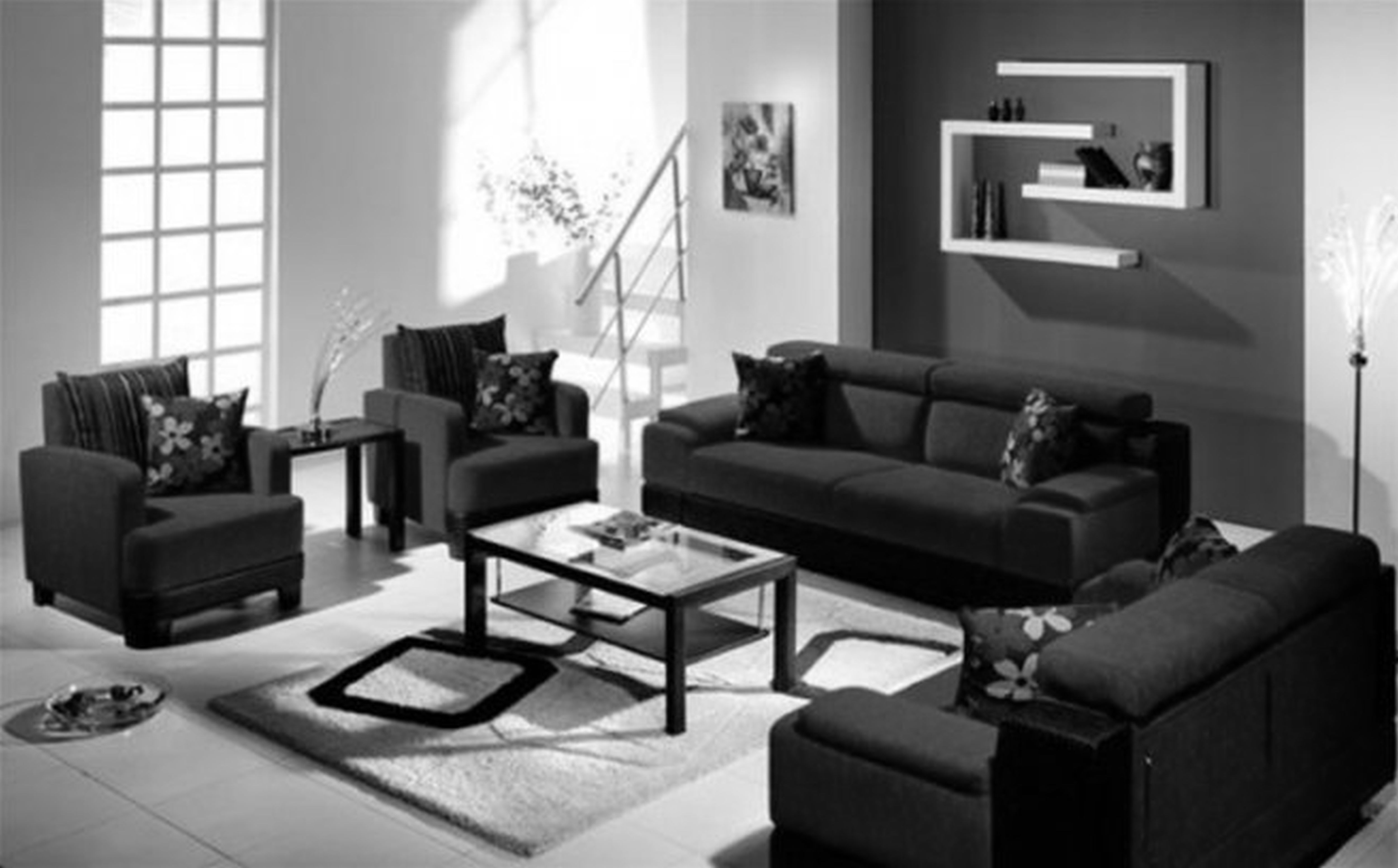 Splendid Apartment Living Room Decorating Ideas With Wonderful Black All Bedroom Atmosphere Kitchen Small Modern Bathroom Cute Rooms Apppie Org