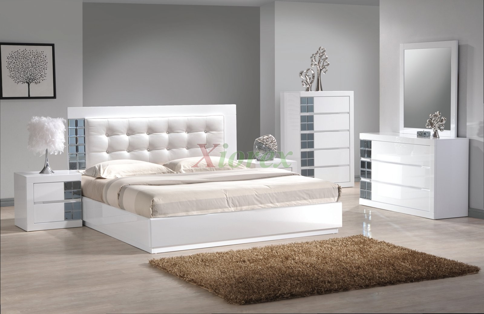White Leather Bedroom Set Sets Online Atmosphere Ideas Bed Frame With Crystal Bedrooms Silver Marble Canopy Queen Black Apppie Org
