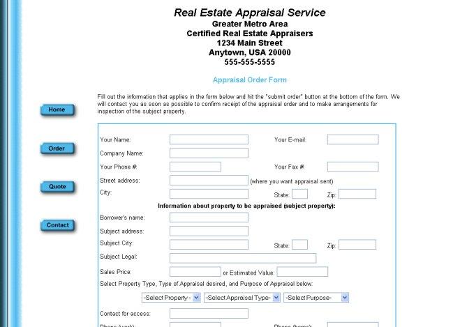Free Web Designs \u2013 AppraiserSites