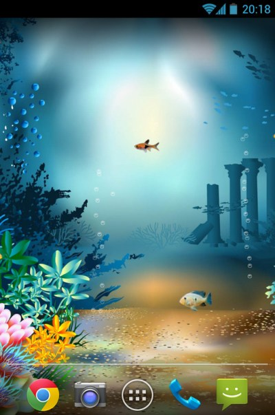 Underwater World Livewallpaper Free Android Live Wallpaper download - Appraw
