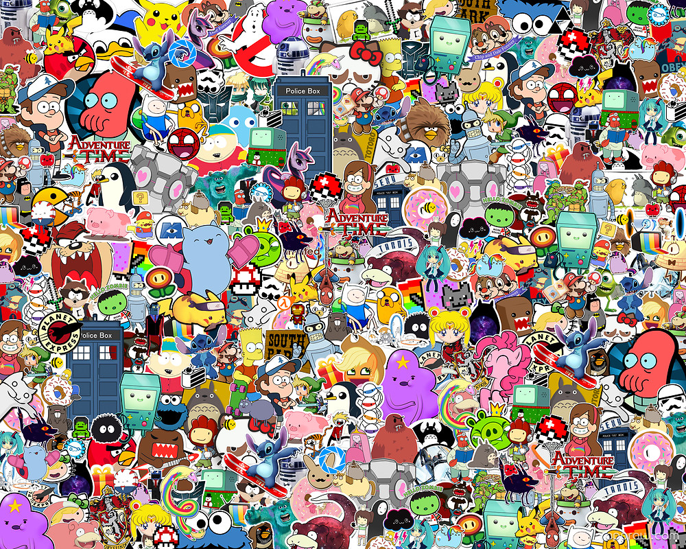 Chip And Dale Wallpaper Hd Cartoon Collage Wallpaper Download Cartoon Hd Wallpaper
