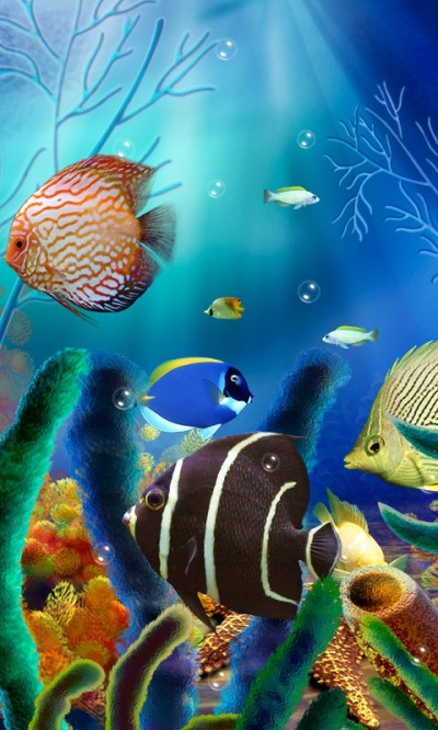 Aquarium Live Wallpaper (free) Free Android Live Wallpaper download - Appraw