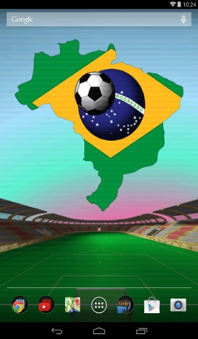 Brazil Football Live Wallpaper Free Android Live Wallpaper download - Appraw