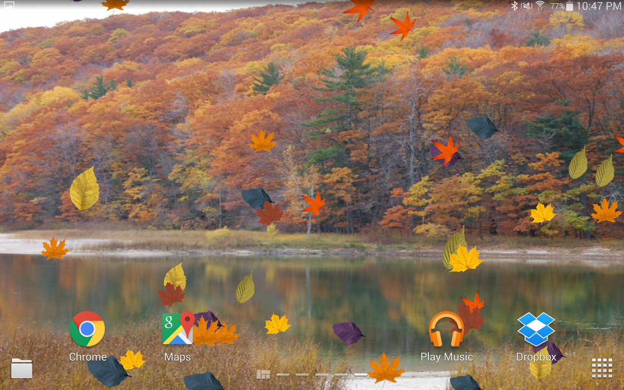 Falling Leaves Live Wallpaper Apk Colorful Autumn Live Wallpaper Free Android Live Wallpaper