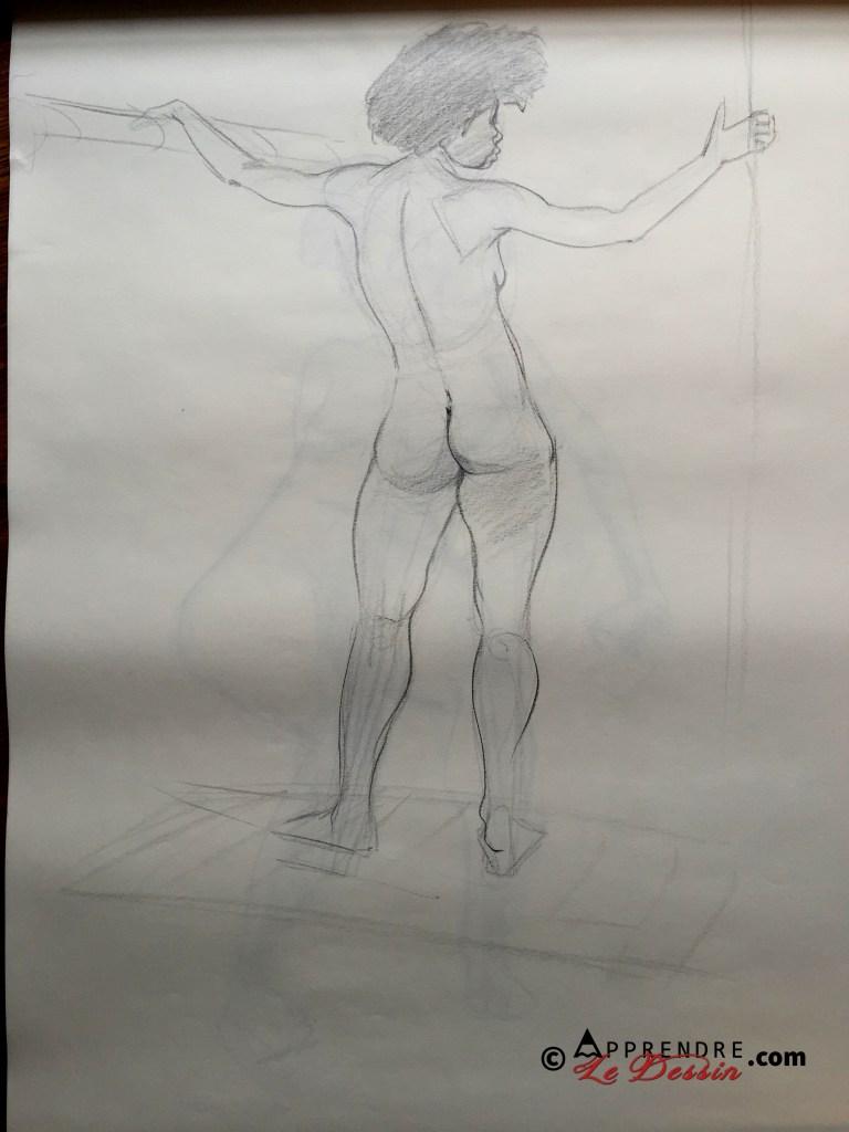 Apprendre a dessiner nus