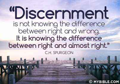 Charles spurgeon on discernment apprising ministries