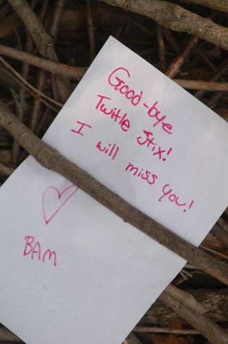 Goodbye Note Perlman Teaching Museum Carleton College - goodbye note
