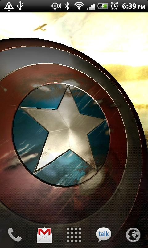 Magic Touch 3d Wallpaper Captain America Live Wallpaper