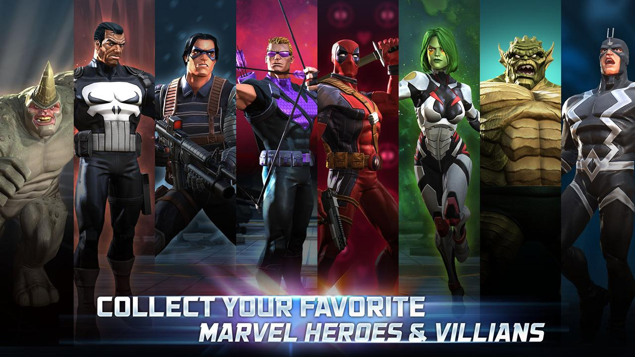 Wallpaper Clash Of Clans 3d Marvel Contest Of Champions For Android