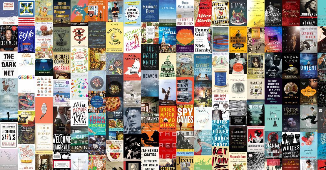 Best Books of 2016  NPR