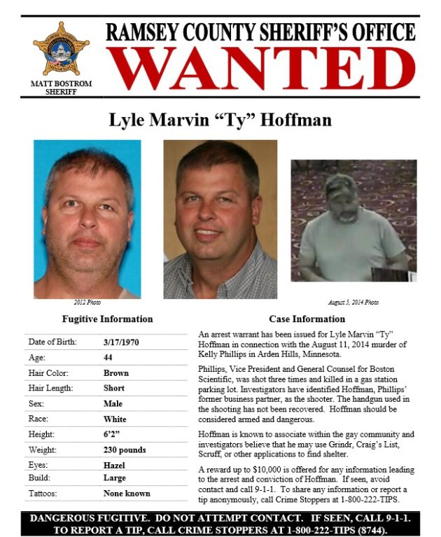 Police release new wanted poster in search for fugitive suspect - criminal wanted poster