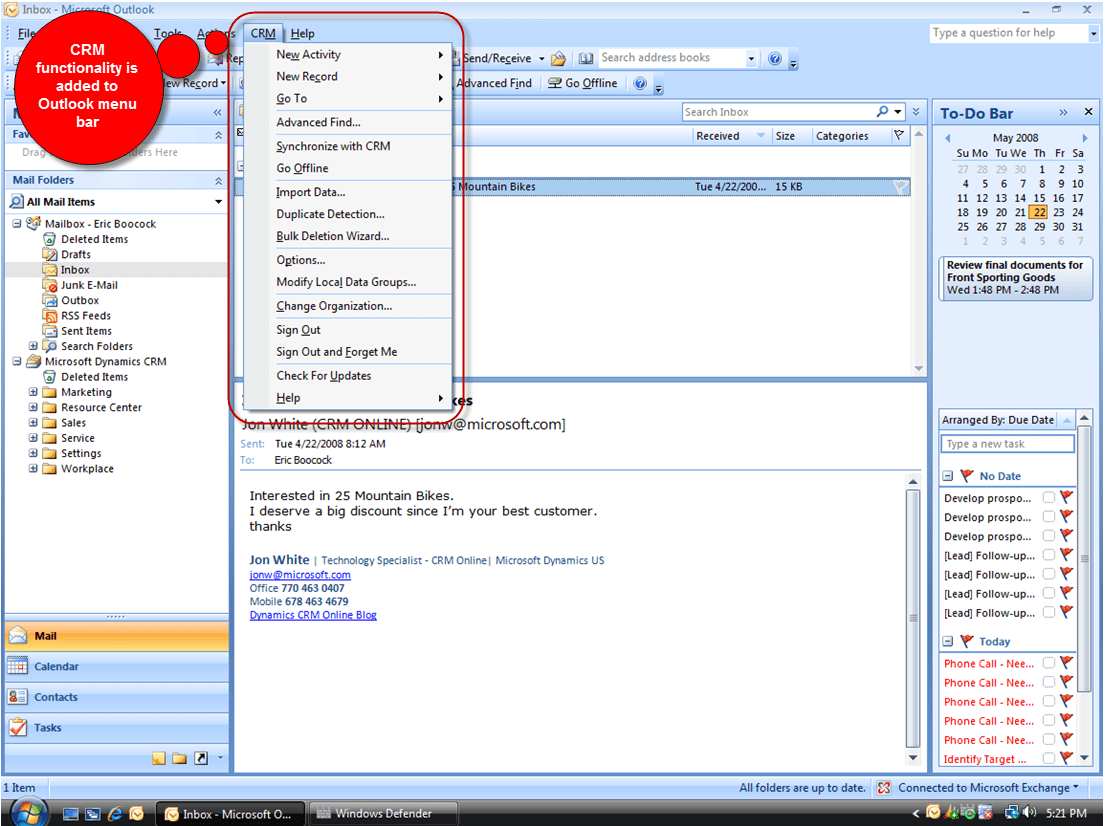 Create A New Account In Outlook  Microsoft Dynamics As A Service It Easy