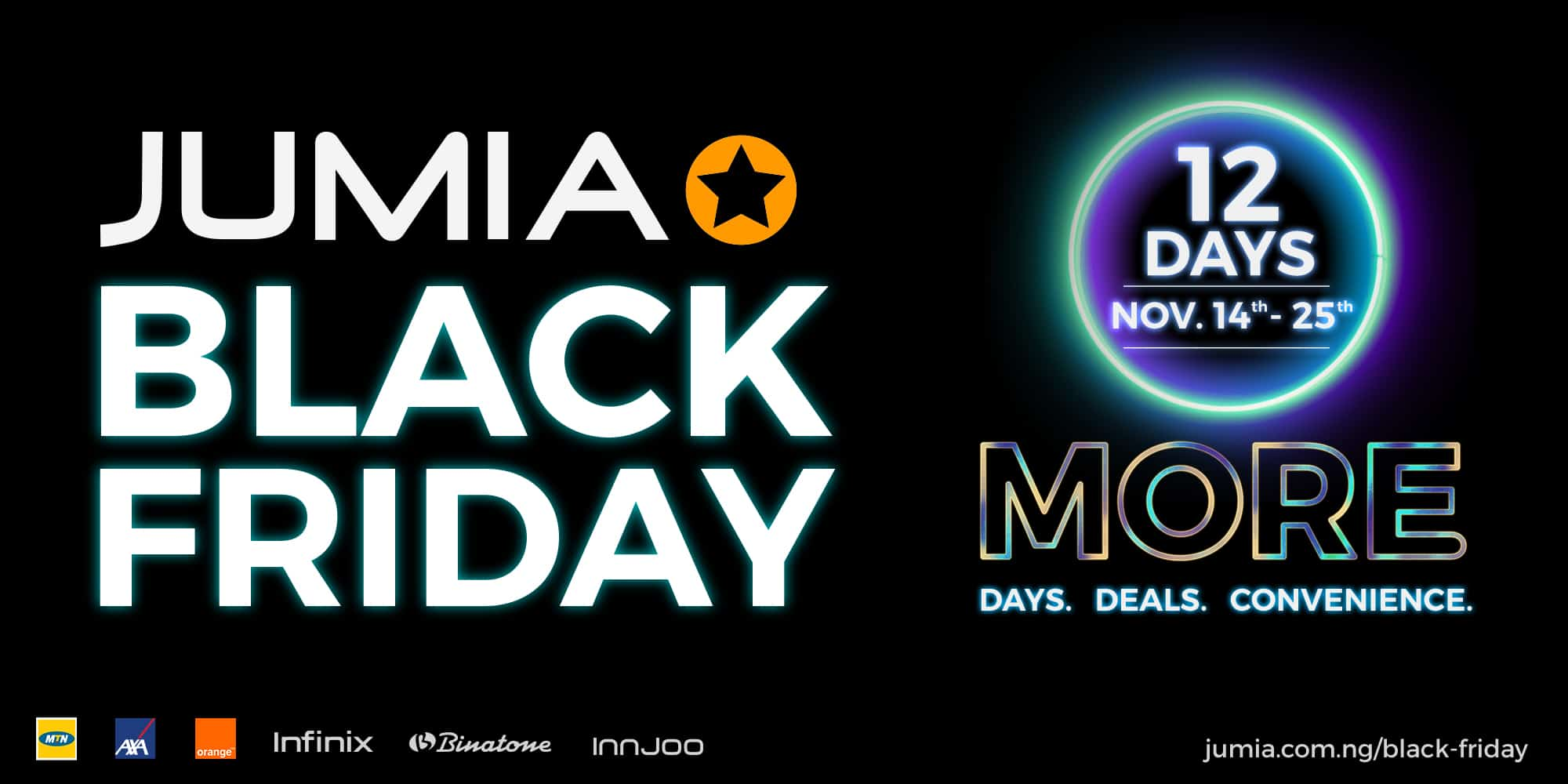 Www Black Friday Jumia Launches A 12 Day Black Friday Campaign
