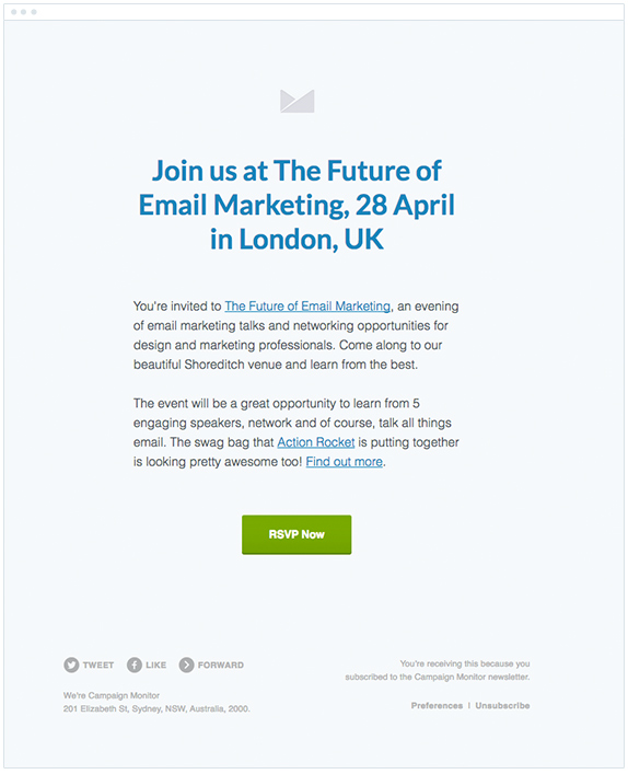 Event Invitation Email Examples With Key Parts  Tips