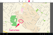 How take screenshots in Google Maps for android