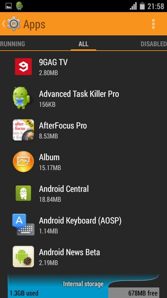how to delete default apps on android