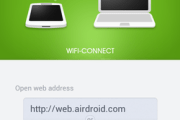 How to transfer files between a PC and Android device using WiFi?